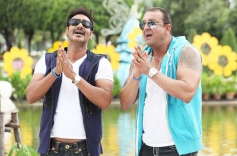 Ajay Devgn and Sanjay Dutt