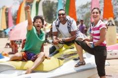 Shreyas Talpade, Ajay Devgan and Kareena Kapoor