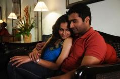 Andrea Jeremiah and Nandha