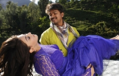 Hansika Motwani and Vijay