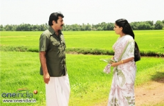 Mammootty and Kavya Madhavan