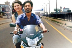 Hansika Motwani  and Dhanush