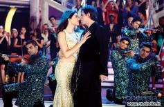 Sushmita Sen and Shahrukh Khan