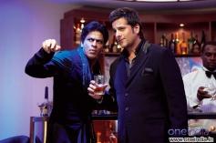 Shahrukh Khan and Fardeen Khan
