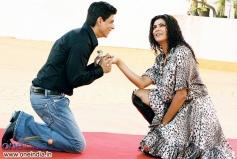 Shahrukh Khan and Sushmita Sen
