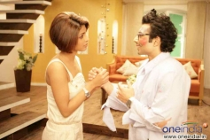 Priyanka Chopra and Uday Chopra