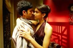 Farhan Akhtar and Deepika Padukone