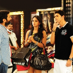 Anushka Shetty and Mahesh Babu