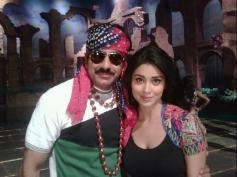Ravi Teja and Shriya Saran