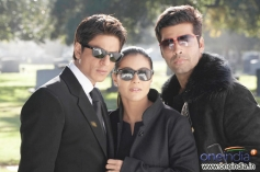 Shahrukh Khan, Kajol and Karan Johar