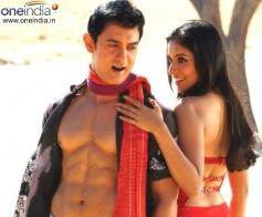 Aamir Khan and Asin