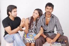 Santhosh, Sanchita Padukone with Yogesh