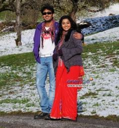 Uday Kiran and Meera Jasmine