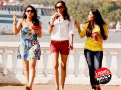Parineeti Sharma, Dipannita Sharma and Aditi Sharma
