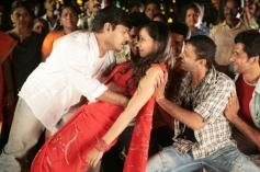 Nithin Sathya and Sanjana Singh