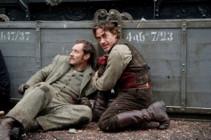 Jude Law and Robert Downey