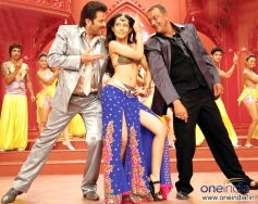 Anil Kapoor, Amrita Rao and Sanjay Dutt