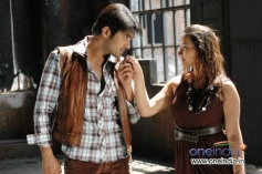 Uday Kiran and Sweatha Basu