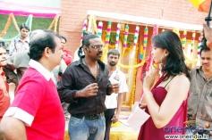 Lawrence Raghavendra and Anushka
