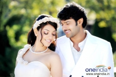 Prabhas and Kajal Agarwal