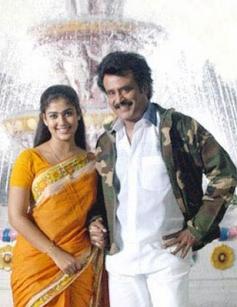 Rajinikanth and Nayantara