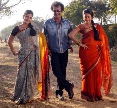 Rajinikanth, Nayantara and Jyothika