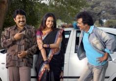 Rajinikanth, Prabhu, and Jyothika