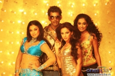 Tanushree Dutta, Vishal, Neetu Chandra and Sara Jain