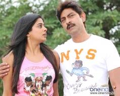 Jagapati Babu with Priyamani