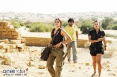 Reema Sen with Andrea Jeremia