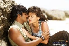 Sneha Ullal with Manchu Manoj