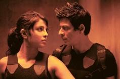 Priyanka Chopra and Shahrukh Khan