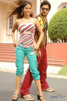Nitin with Meera Chopra