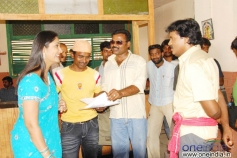 Sunil with Jhansi