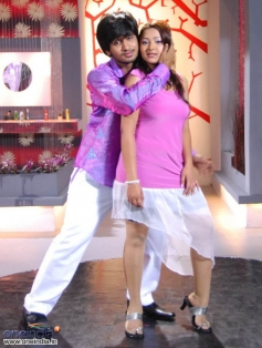 Nikhil with Swetha Basu Prasad