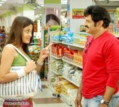 Sneha Ullal with Balakrishna