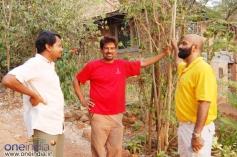 Director Chaitanya, Cameramen Venu with Agni Sridhar