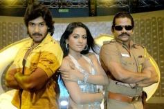 Ramanna. Rachana Mourya with Rithesh