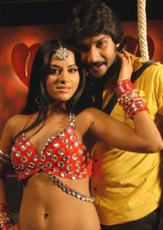 Ramanna with Rachana Mourya