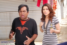 Brahmanandam with Gowri pandit