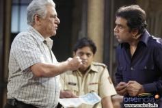 Paresh Rawal and Om Puri