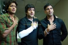 Akshay Kumar, Fardeen Khan and Ritesh Deshmukh