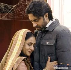 Abhishek Bachchan with Jaya Bachchan
