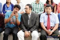 Vijay, Sathyaraj and Sathyan