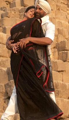 Akshay Kumar with Katrina Kaif