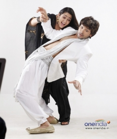 Charmy Kaur and Diganth