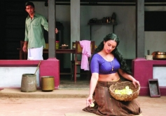 Shweta Menon and Sreejith