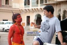 Akshay Kumar with Rajpal Yadav