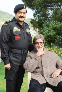 Amitabh Bachan and Mohan Lal