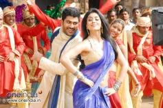 Sharvanand and Shriya Saran
